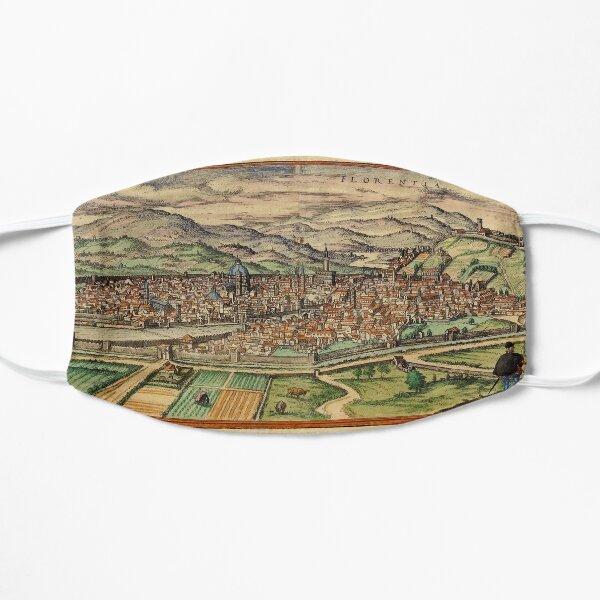 Map Of Florence 1572 Flat Mask