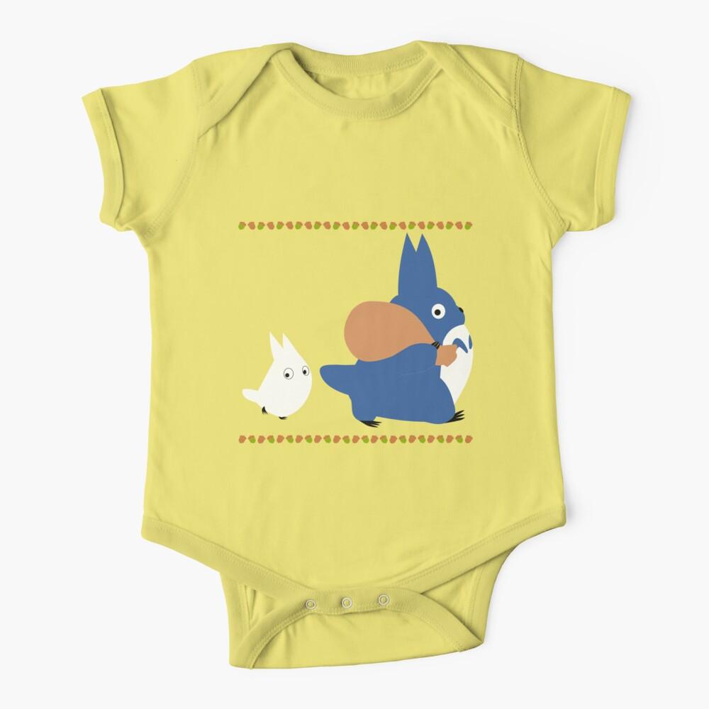 chuu y chibi totoro Body para bebé