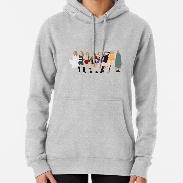 Taylor Swift eras incl folklore Pullover Hoodie