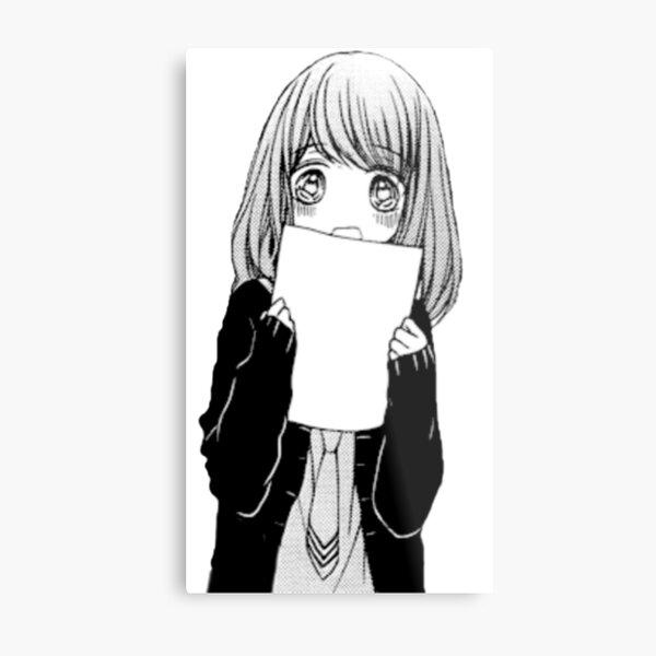Shy Girl Metal Print