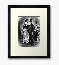 Victorian Couple Framed Print