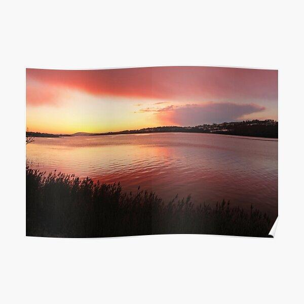 Foyle Sunset Poster