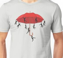 Umbrella Mayhem Unisex T-Shirt