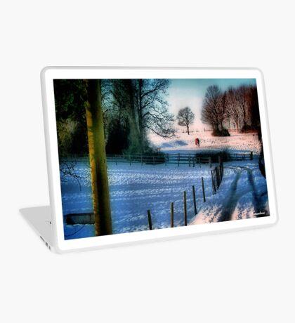 The Snow Fields Laptop Skin