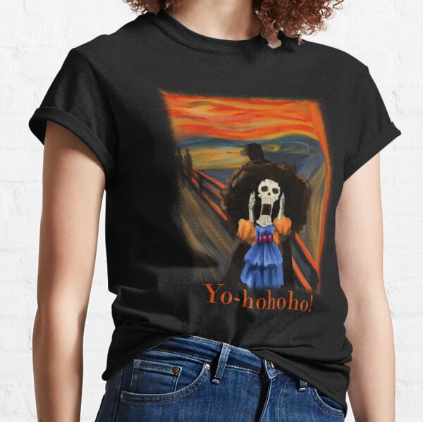 Scream Soul King Brook Yo-hohoho! Classic T-Shirt