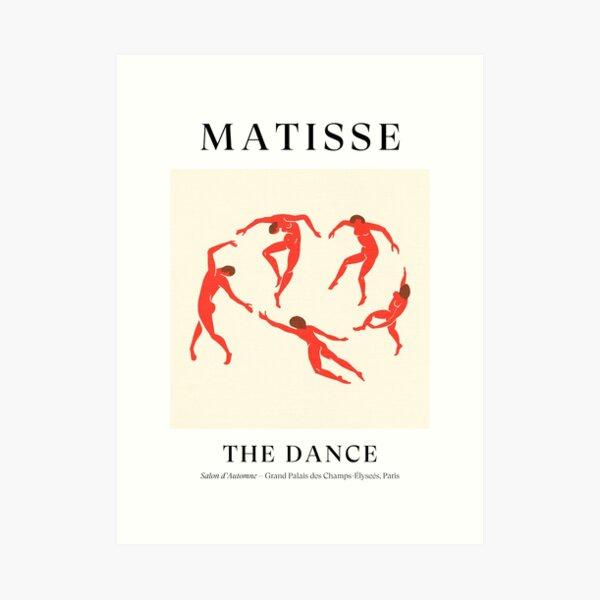 Henri Matisse - La danse (Hommage à La Danse) Impression artistique