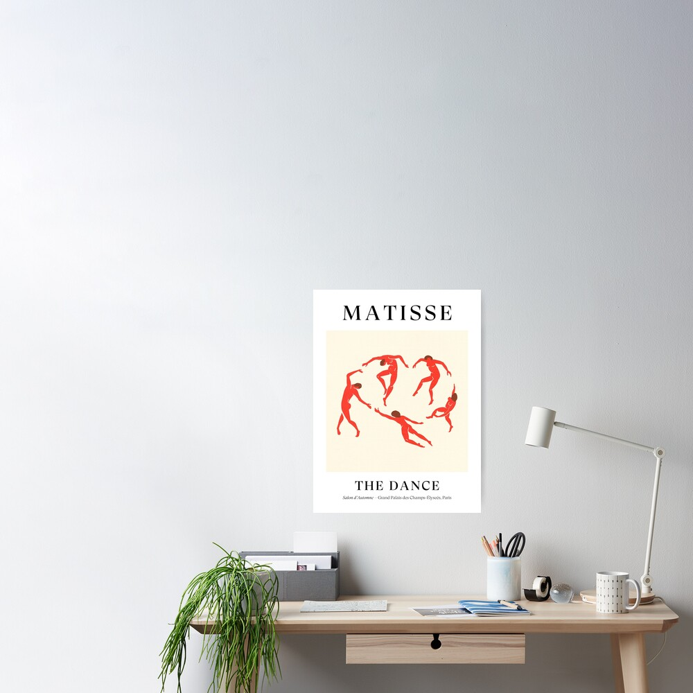 Henri Matisse - The Dance (Tribute to La Danse) Poster