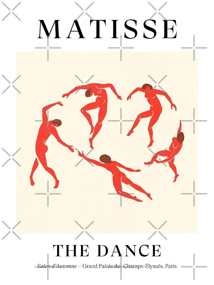 Henri Matisse - The Dance (Tribute to La Danse) by karanwashere