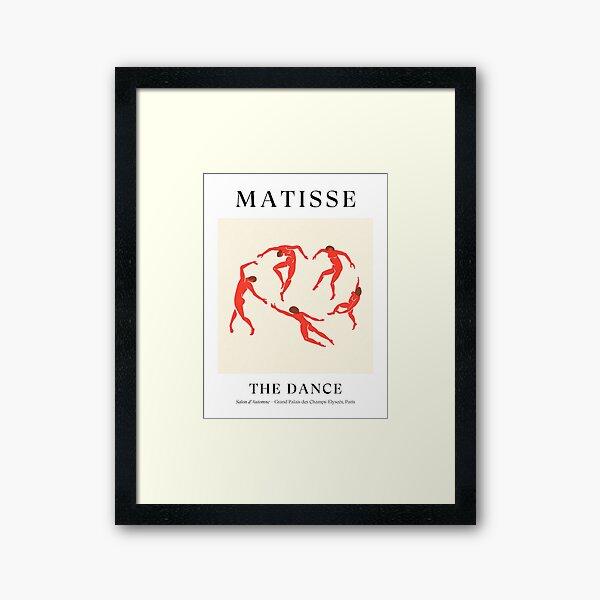 Henri Matisse - The Dance (Tribute to La Danse) Art Print Framed Art Print