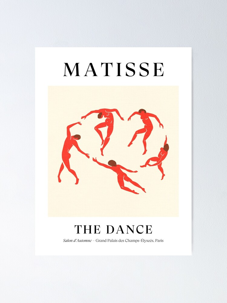 Alternate view of Henri Matisse - The Dance (Tribute to La Danse) Poster