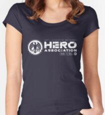 Hero Association Women's Fitted Scoop T-Shirt