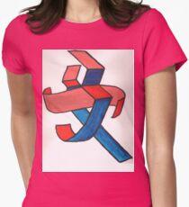 Chinese Femininity  Womens Fitted T-Shirt