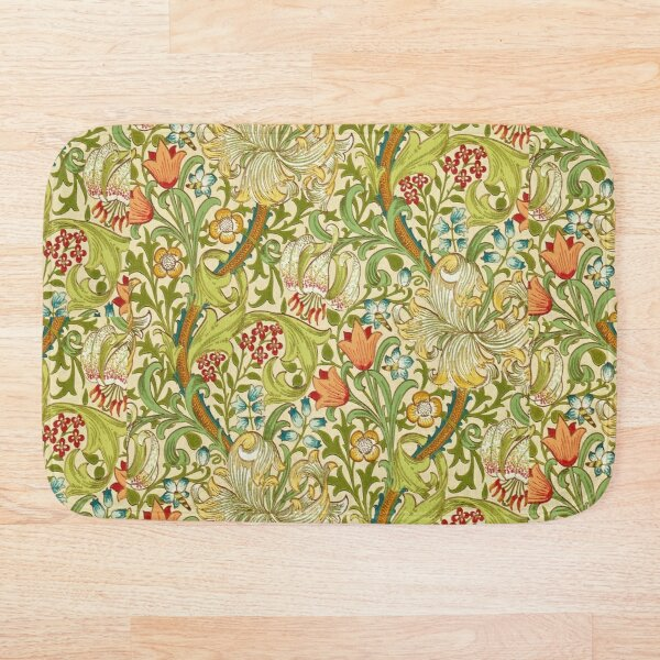 William Morris Golden Lily Bath Mat