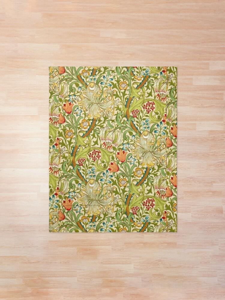 Alternate view of William Morris Golden Lily Comforter