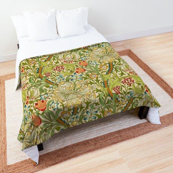 William Morris Golden Lily Comforter