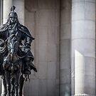 Guarding Parliament by Ruben D. Mascaro