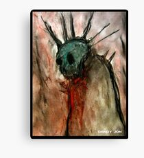 Wretched Zombie Filth Canvas Print