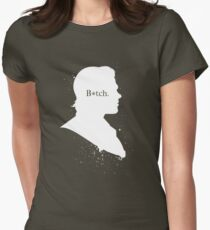 B*tch Womens Fitted T-Shirt