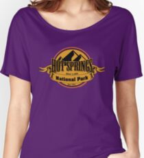 Hot Springs National Park, Arkansas Women's Relaxed Fit T-Shirt