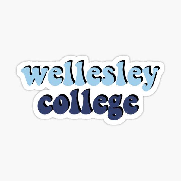 Wellesley College Retro Sticker
