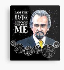The Master (Roger Delgado) Metal Print