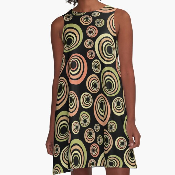 Groovy 60's A-Line Dress