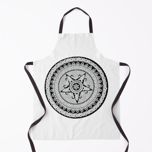 Captain's Shield Mandala Apron