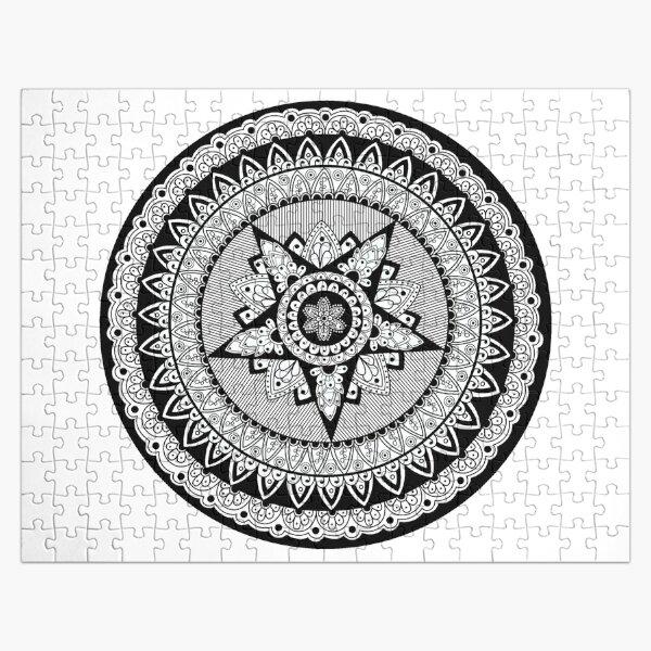 Captain's Shield Mandala Jigsaw Puzzle