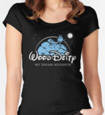 My Dream Neighbor Women's Fitted Scoop T-Shirt