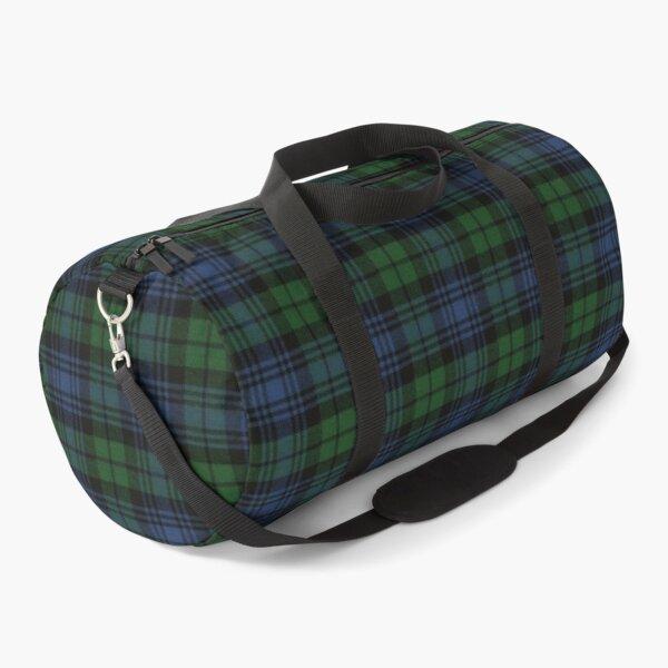 Black Watch Ancient  Original Scottish Tartan Duffle Bag
