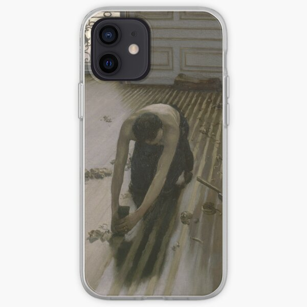 Gustave Caillebotte - The Floor Planers (1875) iPhone Soft Case