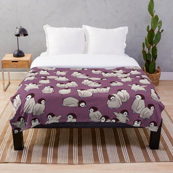 Penguin pattern Throw Blanket