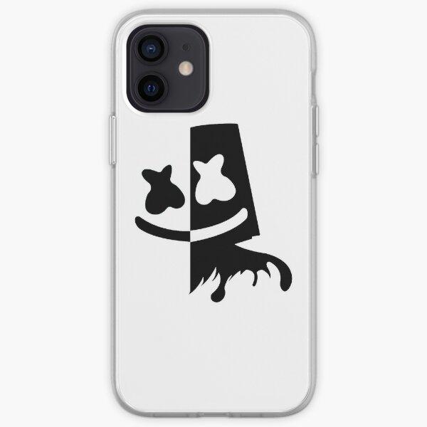 noir et blanc Coque souple iPhone