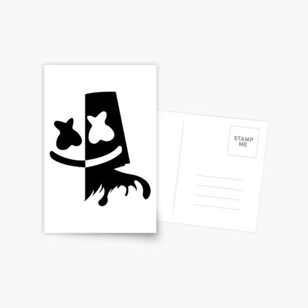 black and white Postcard