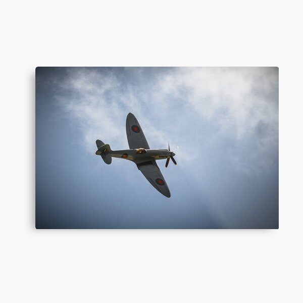 The Spitfire from The Battle of Britain Memorial Flight Metal Print
