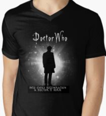 Into every regeneration a Doctor is born Men's V-Neck T-Shirt