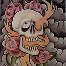 skull and roses by EDLFDESIGNS