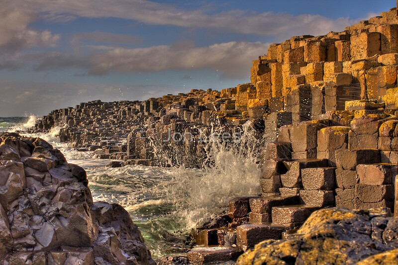 giants causeway posters by jon lees redbubble