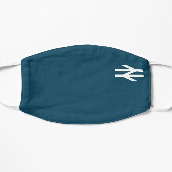 Blue style british rail  Flat Mask
