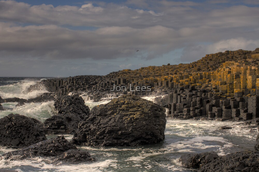 Giants Causeway a World Heritage Site by Jon Lees