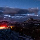 Driving Tioga Road by Cat Connor