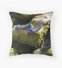Why leave them? Throw Pillow