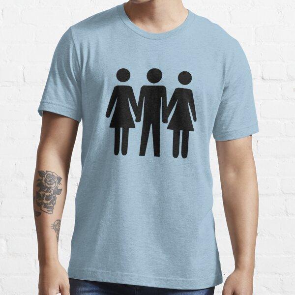Threesome Symbol Essential T-Shirt