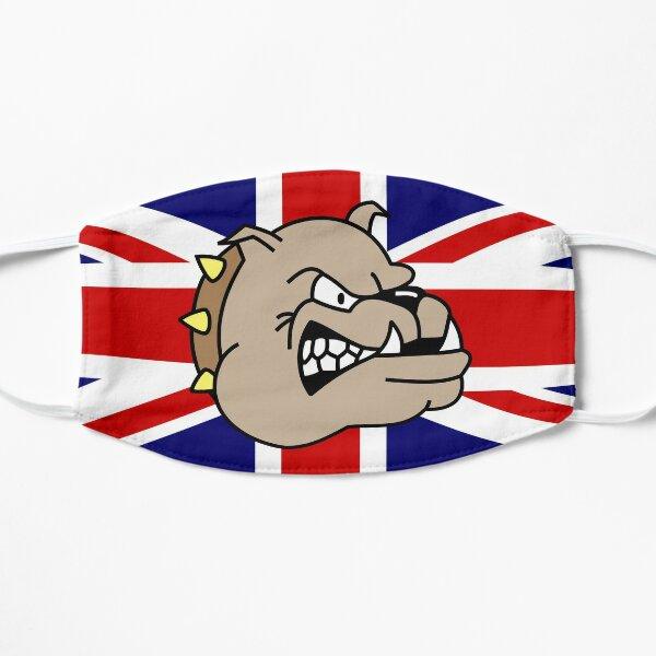 Union Jack Flag British Bulldog Great Britain  Flat Mask