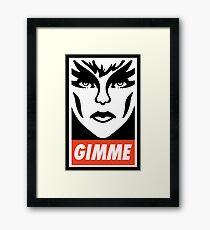 Gimme Pizzazz Framed Print