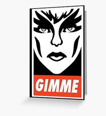 Gimme Pizzazz Greeting Card