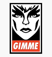 Gimme Pizzazz Photographic Print
