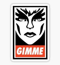 Gimme Pizzazz Sticker
