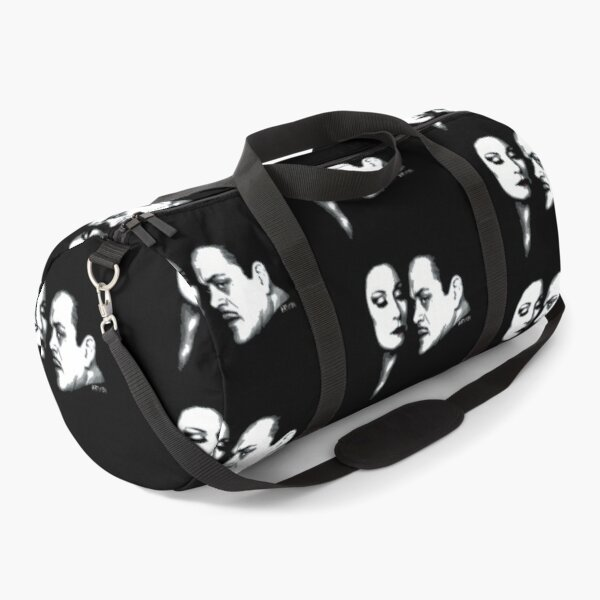 Gomez and Morticia Duffle Bag