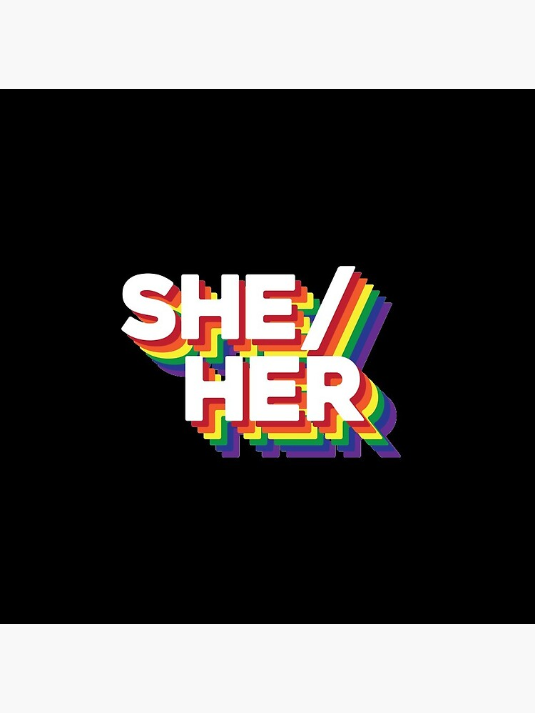 What are your Pronouns? by cheryldesigns
